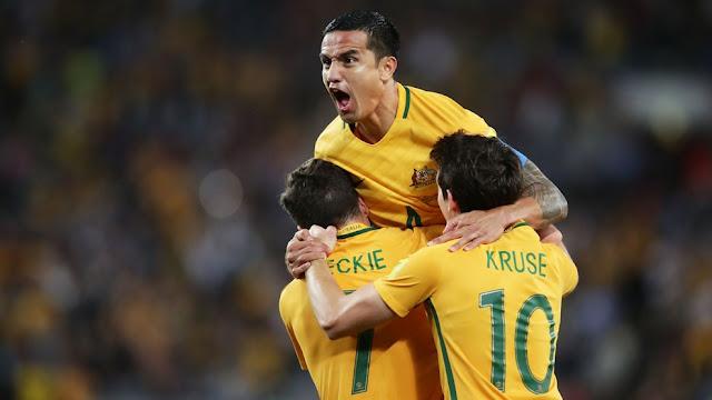 Australia celebra su pase a la repesca tras imponerse a la selección de Siria