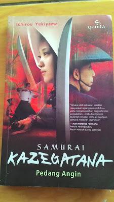 buku ichirou yukiyama buku samurai kazegatana