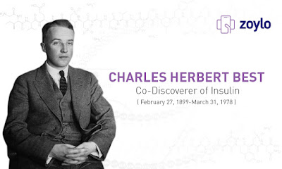 Co-discoverer of Insulin | Online Healthcare Information