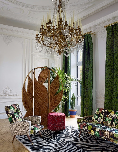 mesatex japan design view christian lacroix maison for designers guild. Black Bedroom Furniture Sets. Home Design Ideas