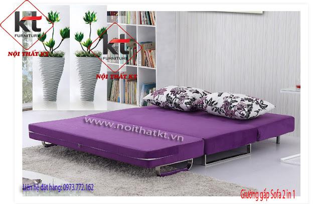 Tiện nghi gói gọn trong một sản phẩm SOFA BED 2IN1