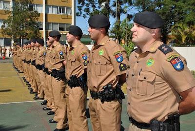 Resultado oficial segunda fase do Curso de Formação de Oficiais (CFO) da Polícia Militar do Paraná