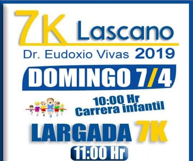 7k Lascano Dr. Eudoxio Vivas (Lascano - Rocha, 07/abr/2019)