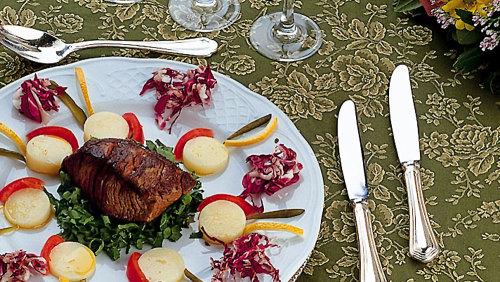 Ingressos para um banquete da corte renascentista em Florença