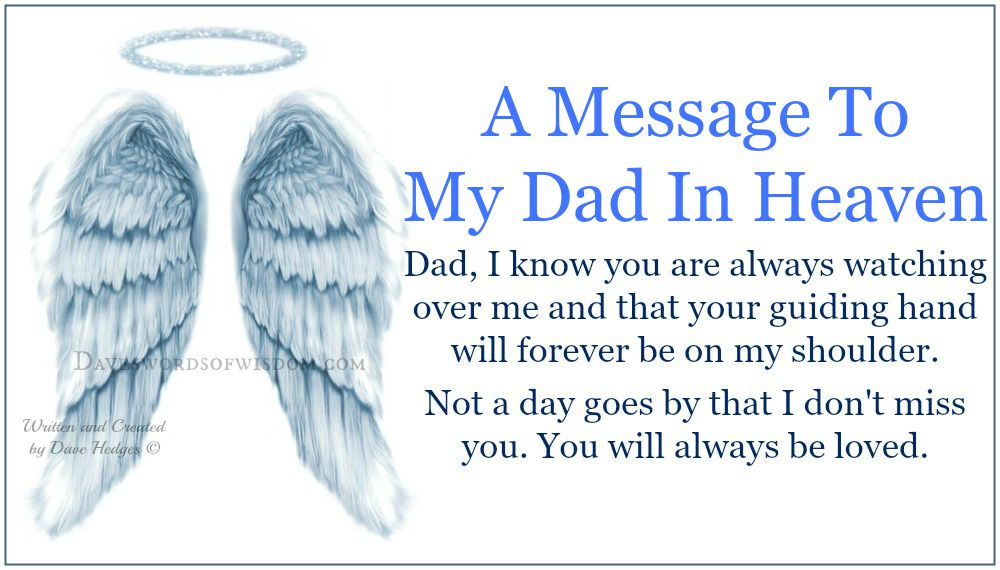 missing dad on fathers day