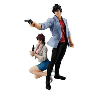 """Figuras: Imágenes y detalles de Ryo y Kaori G.E.M.series de """"City Hunter"""" - MegaHouse"""