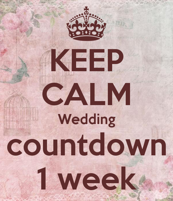 Konstancja And Tobias Wedding Day Wedding Countdown