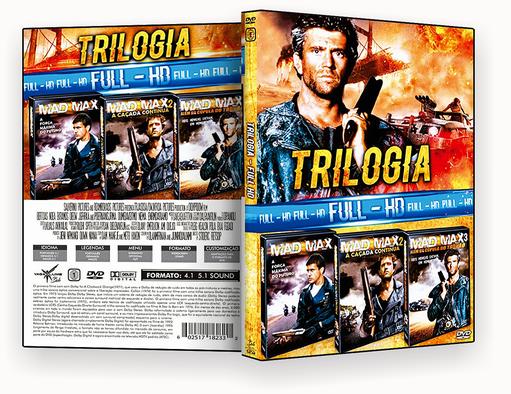 CAPA DVD – TRILOGIA FULL HD VOL 34 (2018) DVD-R