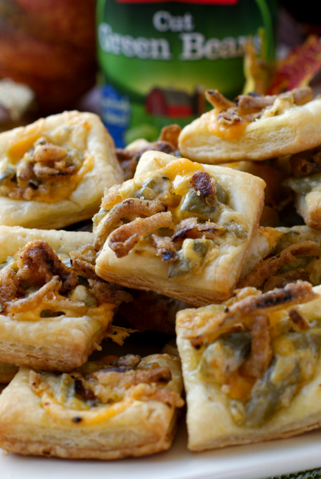 Green Bean Casserole Tartlets