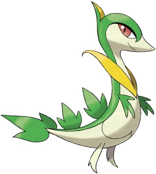 Pokémon Black and White Starter Pokémon
