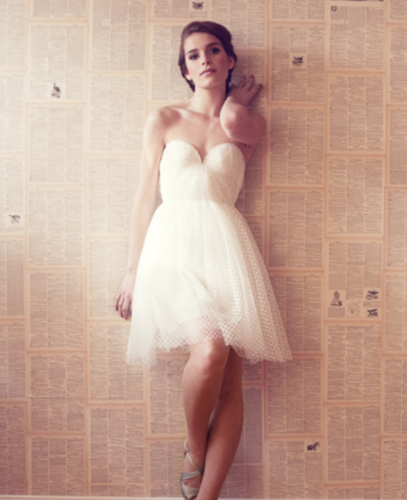 Simple Wedding Dresses Eloping: Suzanne's Bridal Blog: A Perfect Elopement Dress