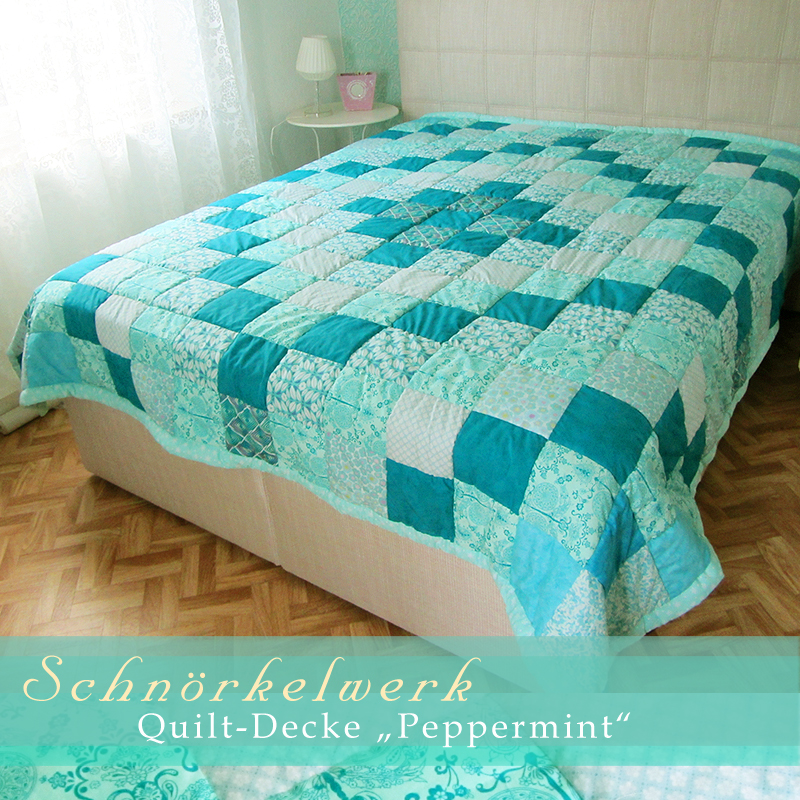 happy quilts by schn rkelwerk tagesdecken quilts stranddecken. Black Bedroom Furniture Sets. Home Design Ideas