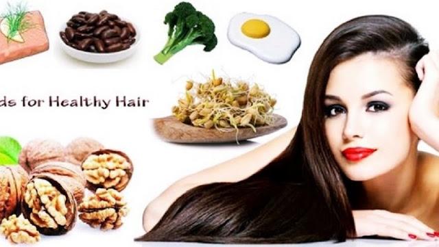 5 Makanan Sehat Pencegah Rambut Rontok