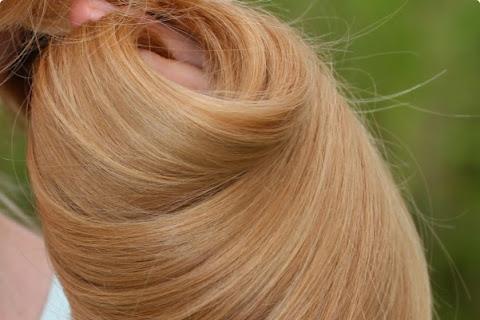 Dwa miesiące z systematycznym olejowaniem włosów - czytaj dalej »