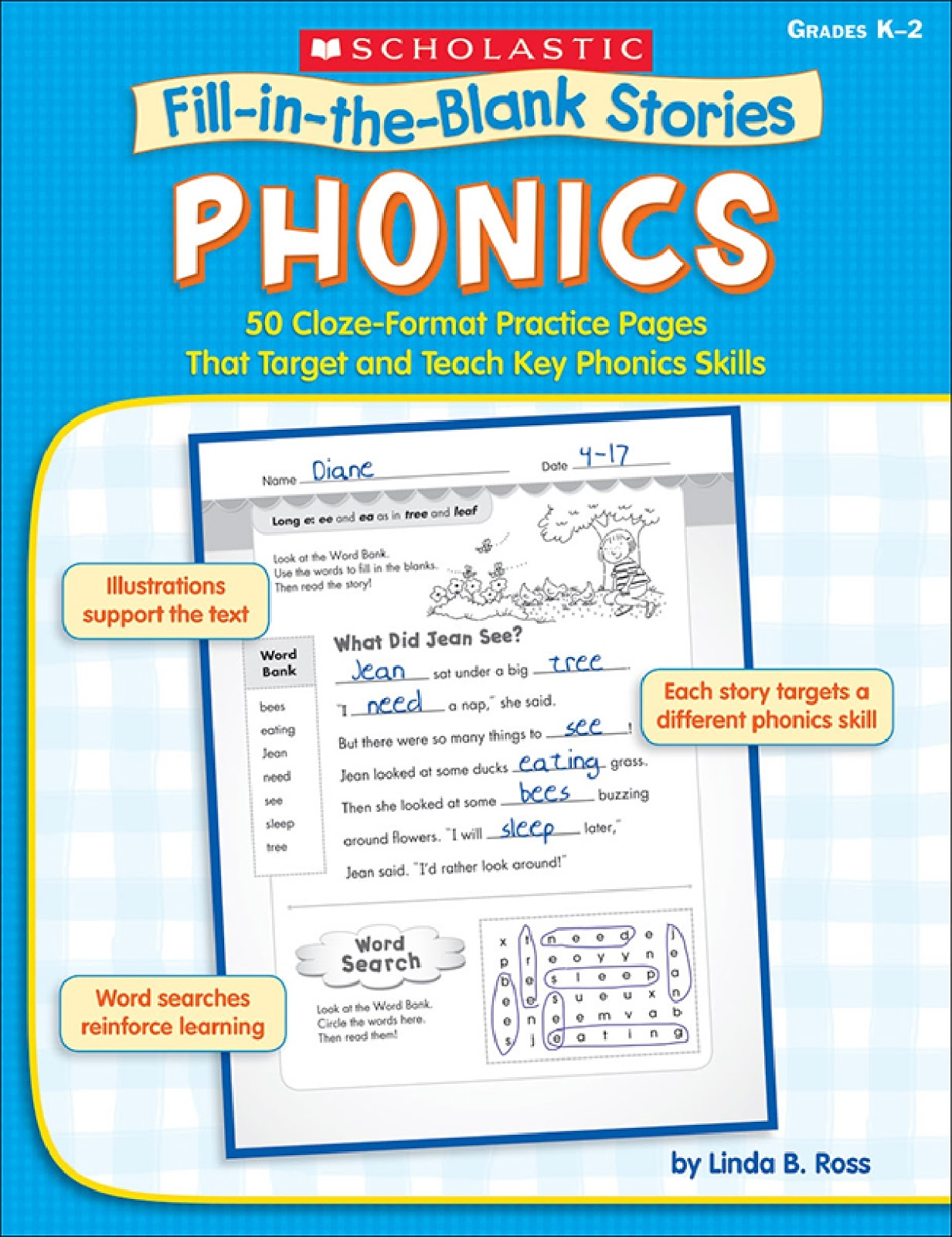 Fill In The Blank Stories Phonics