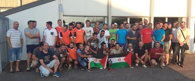 فريق الجالية الصحراوية يفوز بلقب دوري الفرق المحلية ببوردو الفرنسية (  صور )  .
