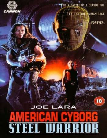 Poster Of American Cyborg Steel Warrior 1993 Hindi Dual Audio 400MB BluRay 720p HEVC Free Download Watch Online downloadhub.in