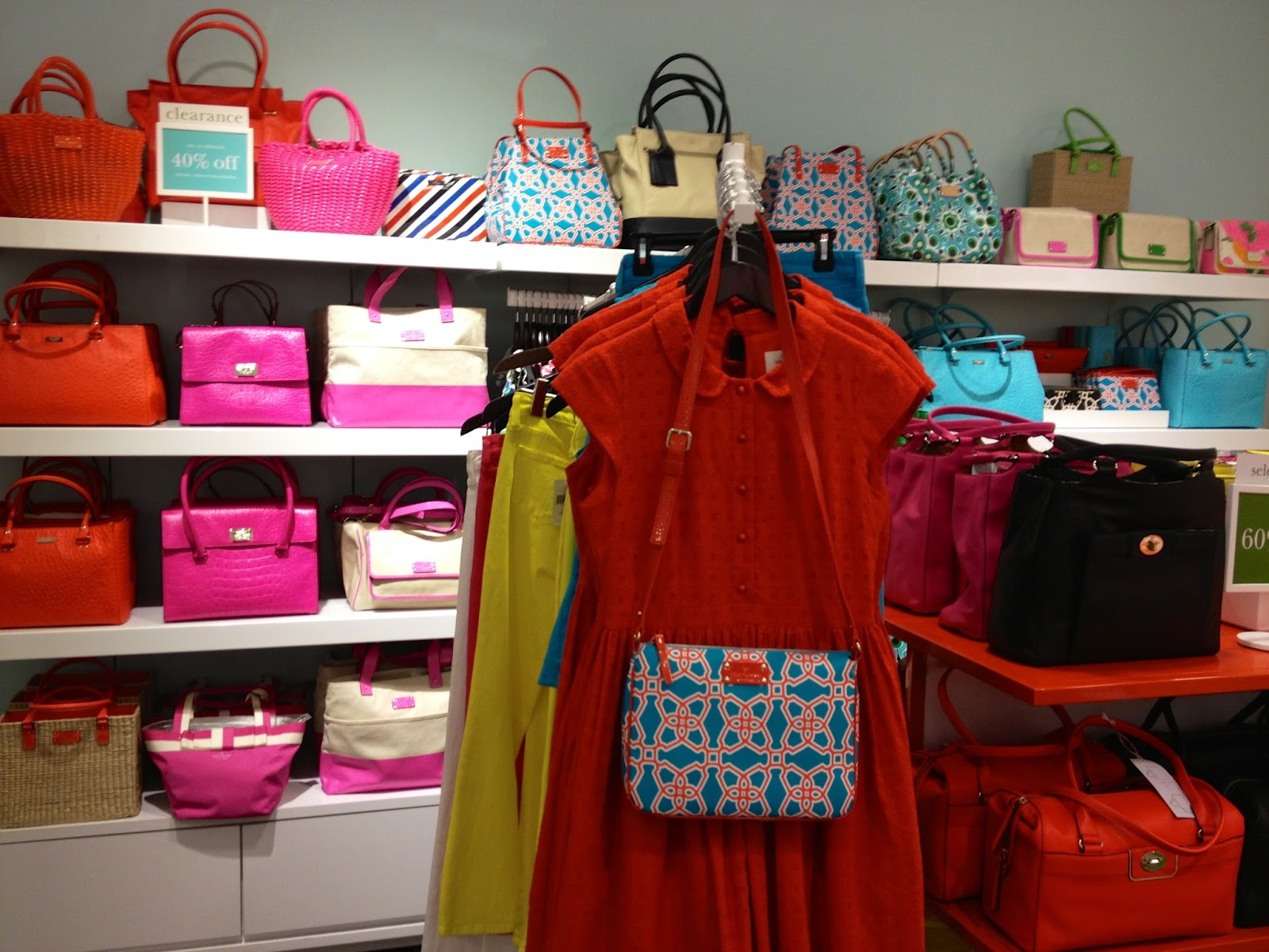 b12122a94b0 great deal at the Kate Spade Outlet in addition to a student discount