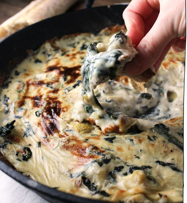 Vegan Spinach and Artichoke Dip