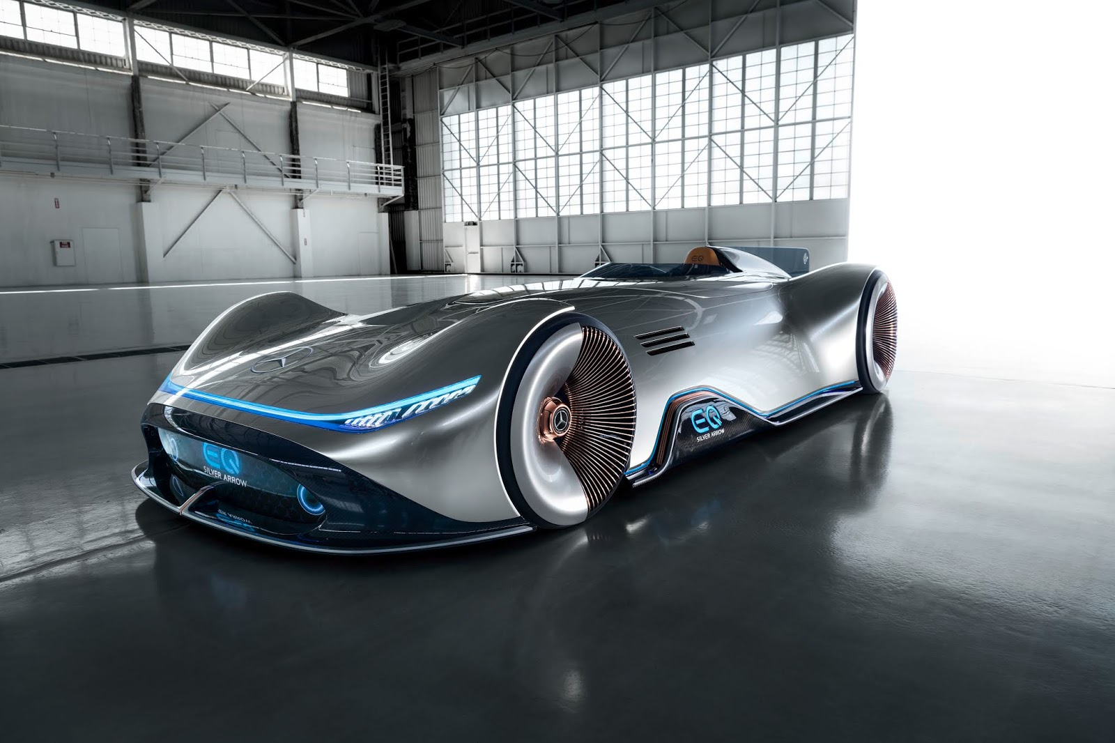 Mercedes Benz Eq Silver Arrow Ev Concept