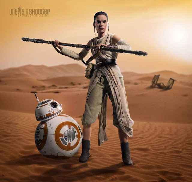 star wars force awakens rey