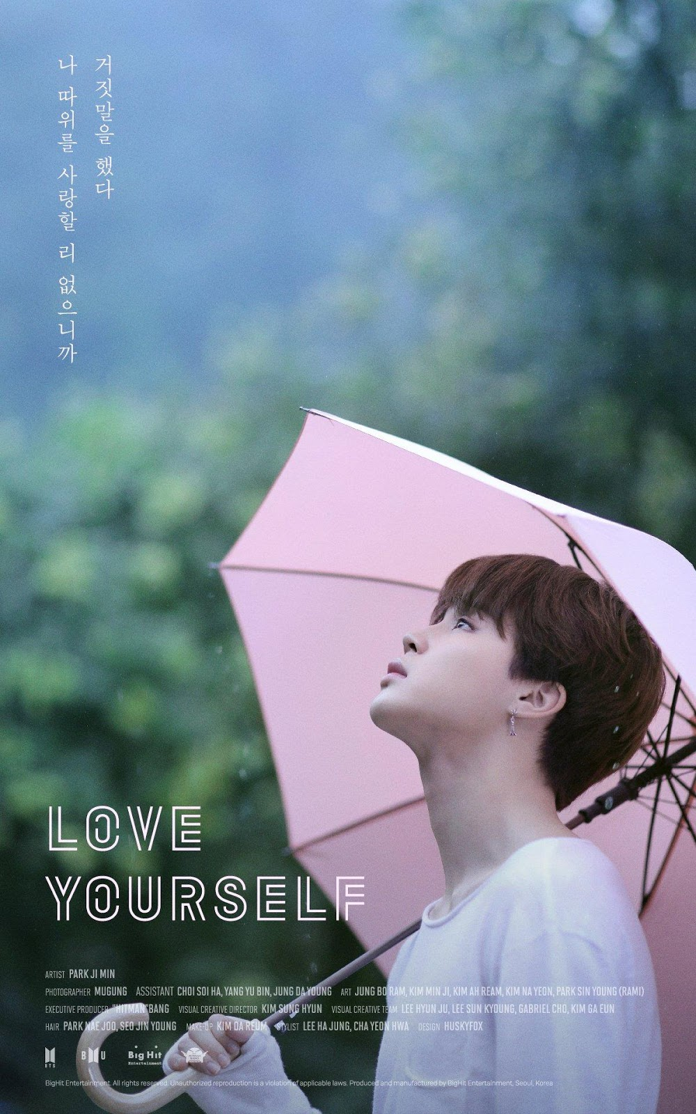 Image result for love yourself bts posters