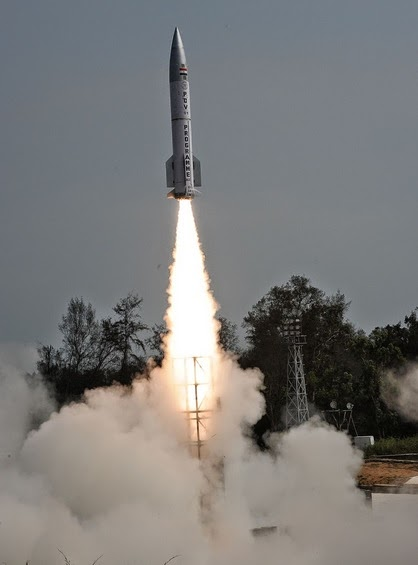 Asian Defence News: India test-fires anti-ballistic missile