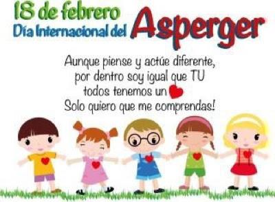 Resultado de imagen de dia mundial del sindrome de asperger