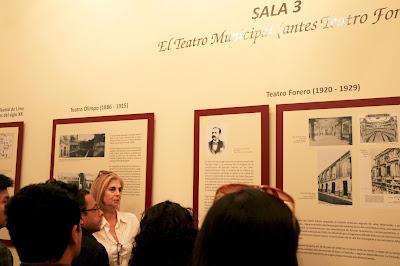 Museo del Teatro Municipal, Teatros de Lima, Historia de los Teatros en Perú