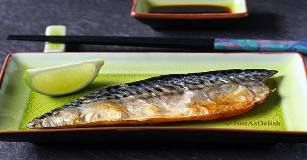 Salt Grilled Mackerel (Saba Shioyaki) Recipe
