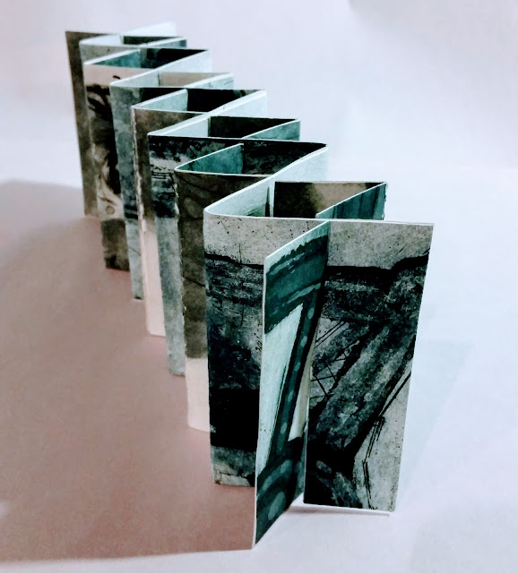 Hartigan interleaved slit accordion book