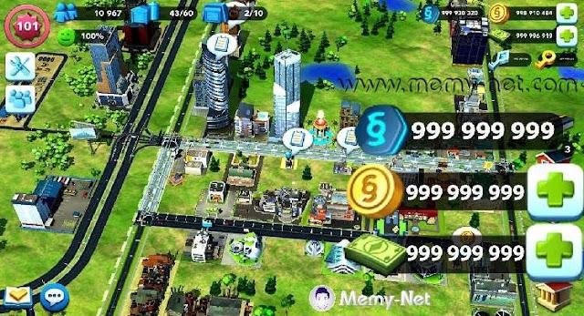تحميل لعبة بناء المدن SimCity BuildIt MOD مهكرة