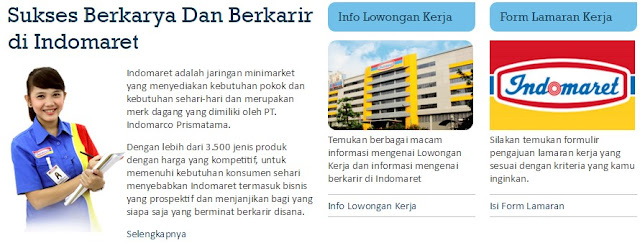 Loker Terbaru 2020 - Lowongan Kerja Indomaret Kabupaten Pamekasan