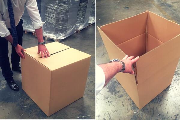 cajas para sillas desmontadas