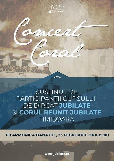Concert Coral Jubilate la Timsoara