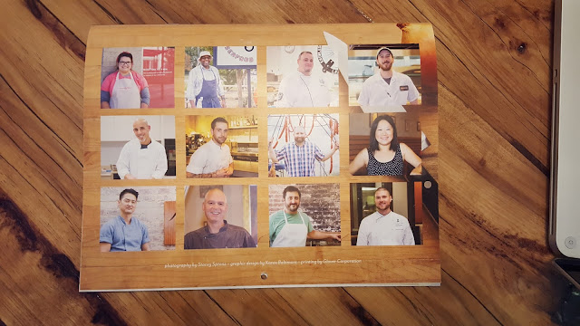 Proceeds for Hottest Chefs in Triangle Calendar go to Local Food Bank