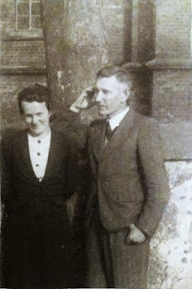 Iza i Piotr Kruszyńscy w Krakowie 1945