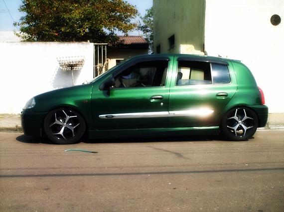 Santa Fe Bmw >> Envelopados e Tunados: Renault Clio Tunado