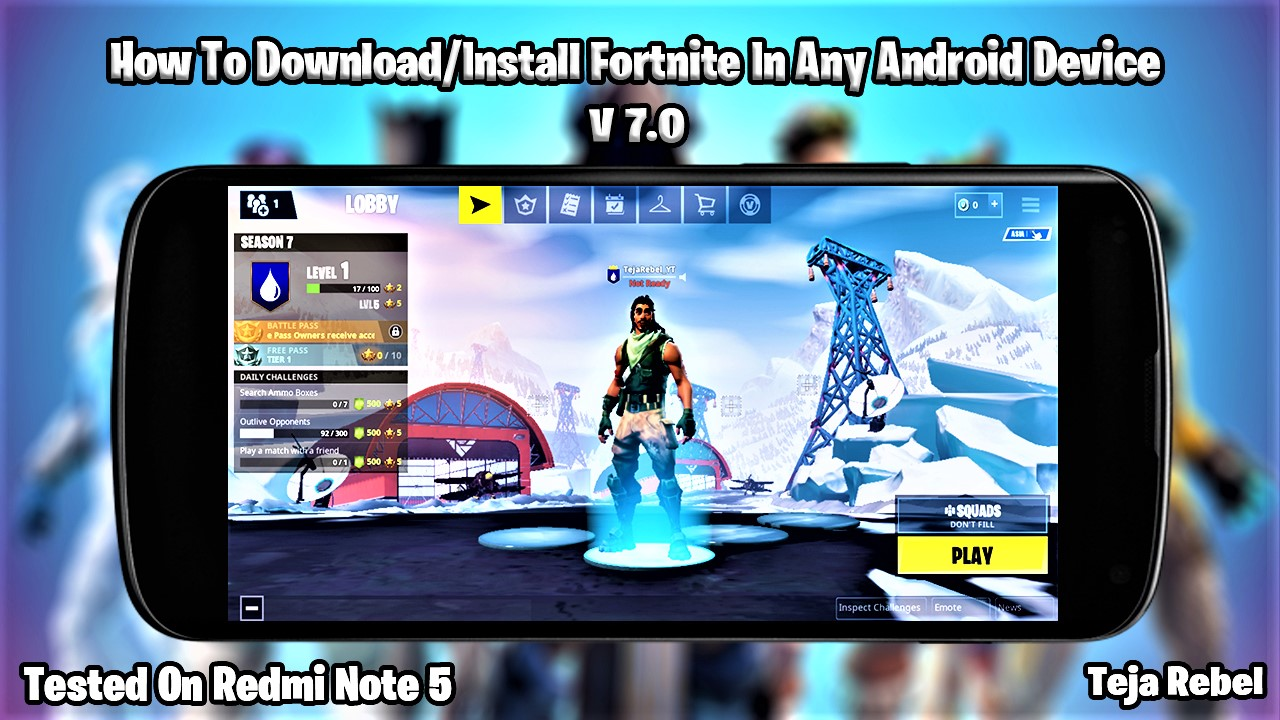 Top Five Fortnite On Any Android Phone - Circus