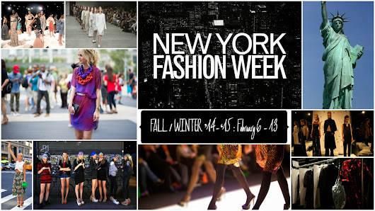 FASHION WEEK SCHEDULE: 01.01.2014 - 14.01.2014 | Instyleopedia