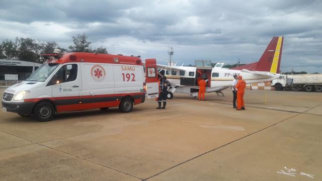 Atendimento aeromédico no estado tem reforço de mais uma aeronave - Fotos: Divulgação/CBMMG
