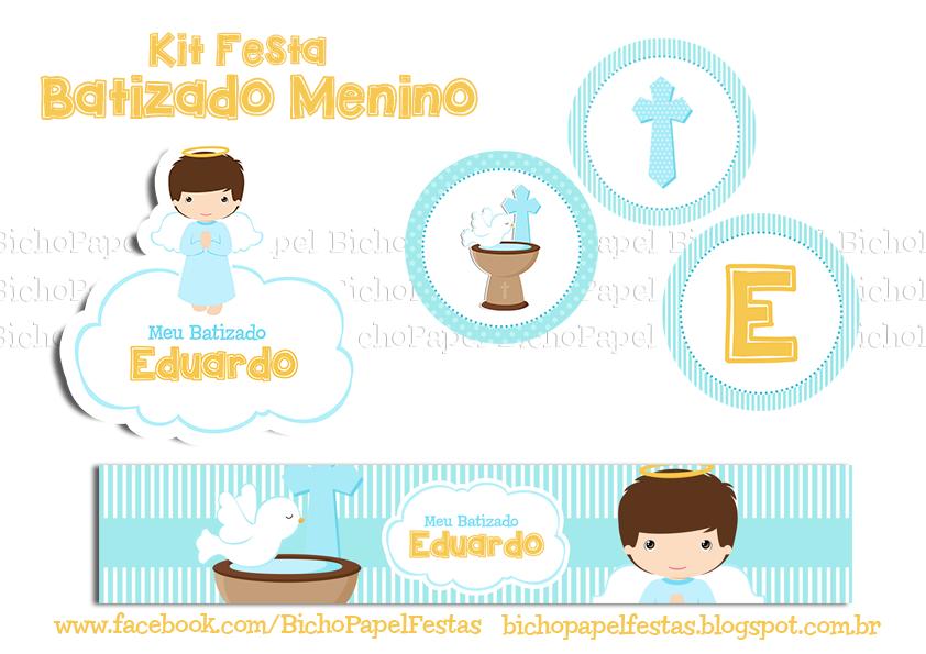 Kit Batizado Menino