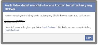 Cara Unblock Link Blog Yang Di Blokir Oleh Facebook