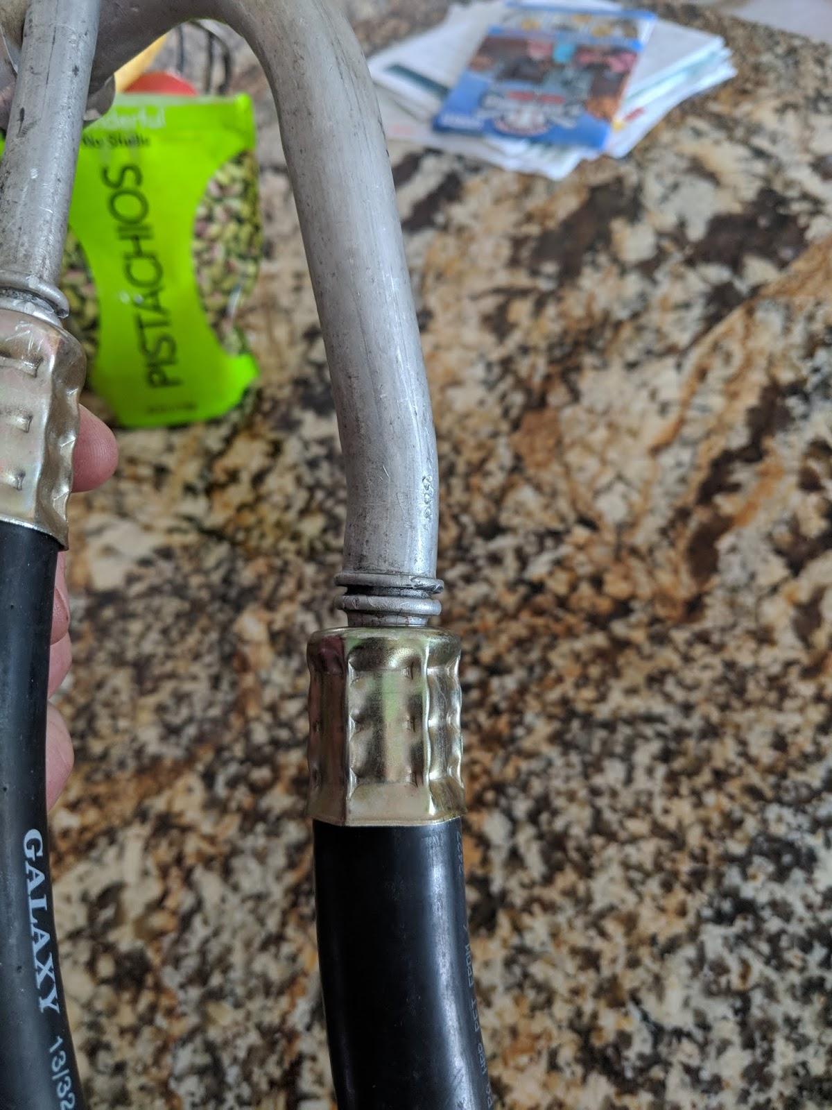 Custom Fiero 3800 swap Ac lines
