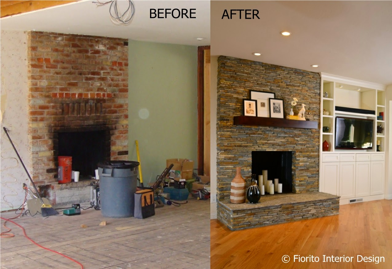 Kitchen Cabinet Tiles Fiorito Interior Design From Brick To Stone A Fireplace