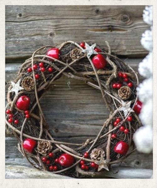 ιδεες διακοσμησης για τα χριστουγεννα με φυσικα υλικα, Χριστουγεννιάτικες ιδέες διακόσμησης με φυσικά υλικά