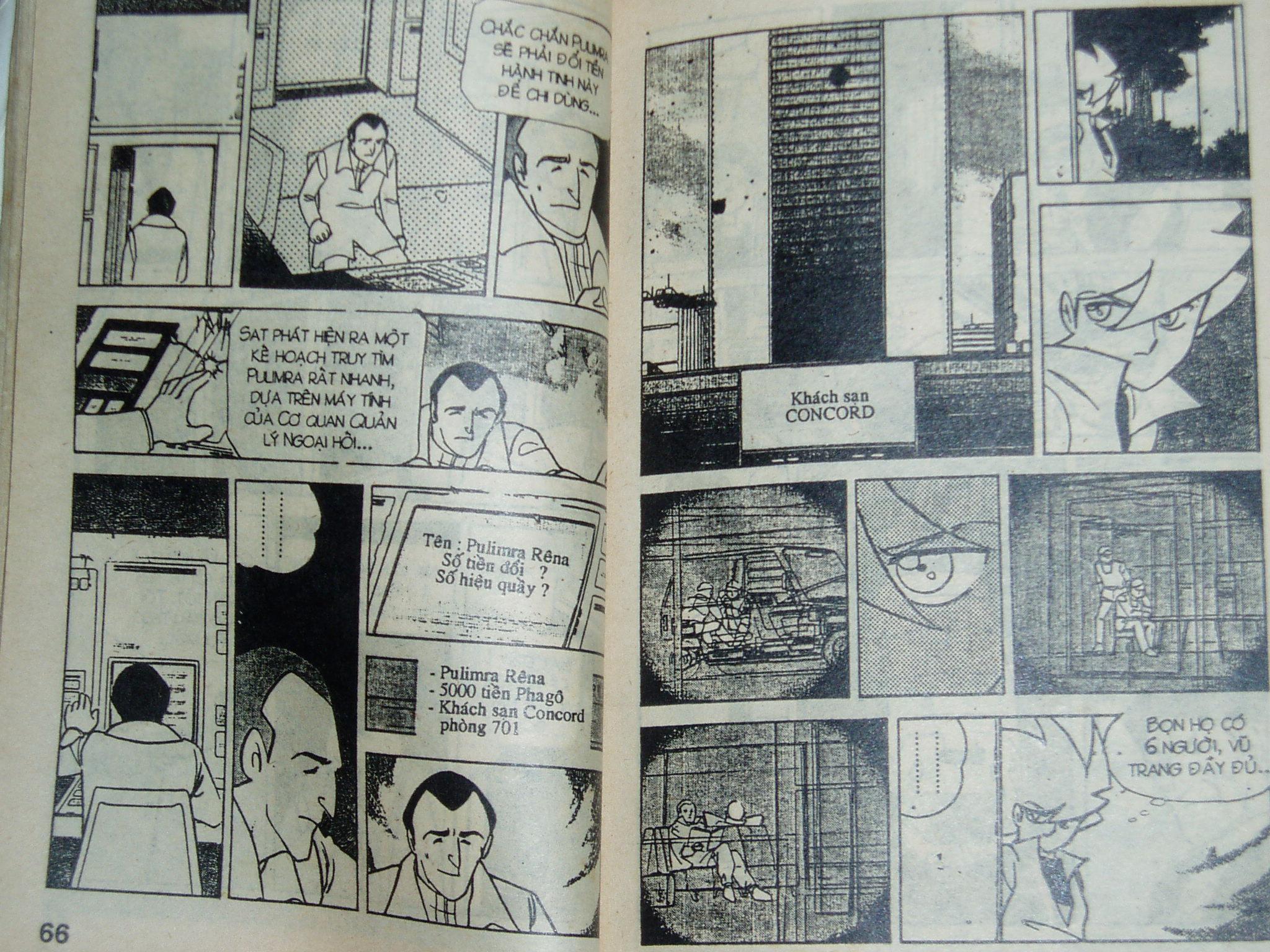 Siêu nhân Locke vol 16 trang 32