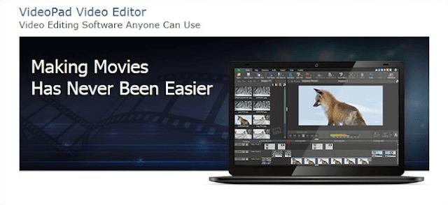 VideoPad Video Editor - Aplikasi Edit Video Offline Gratis Untuk PC