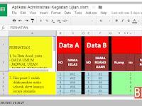 Aplikasi Excel untuk Membuat Perlengkapan Ujian di Sekolah dengan fitur Lengkap