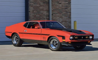 1971 Ford Mustang Mach 1 Drag Pack Front Right